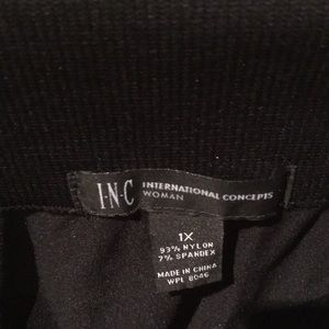 INC International Concepts Pants - Inc. international concepts black leggings